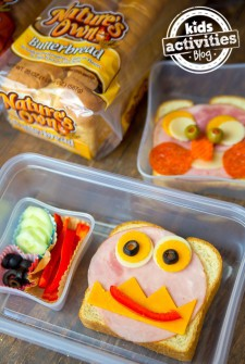 Easy Lunch Idea for Kids: Sandwich Faces Featured Image