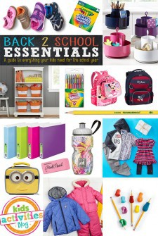 Must Have Back-To-School Essentials Guide!