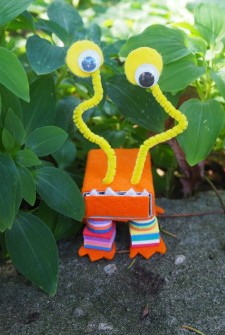 crafty garden creature