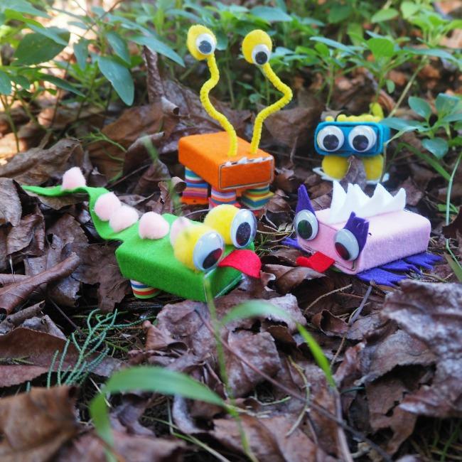 crafty garden critters