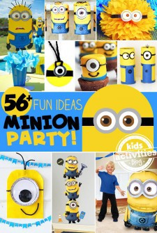 56 Fun Minion Party Ideas