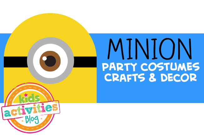 minion party crafts and decor