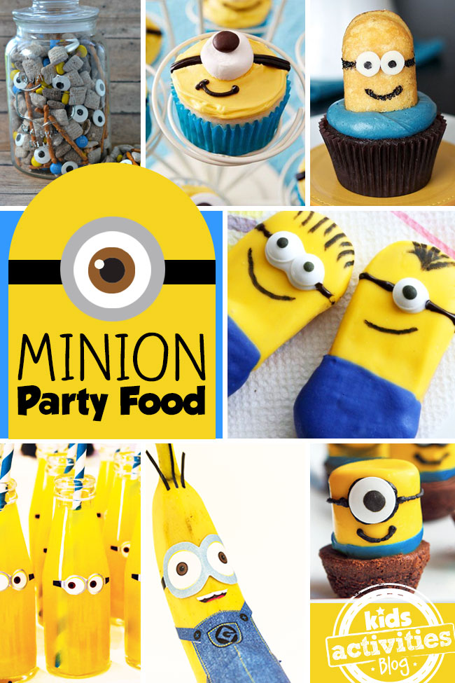 Minion Decorations and Party Food