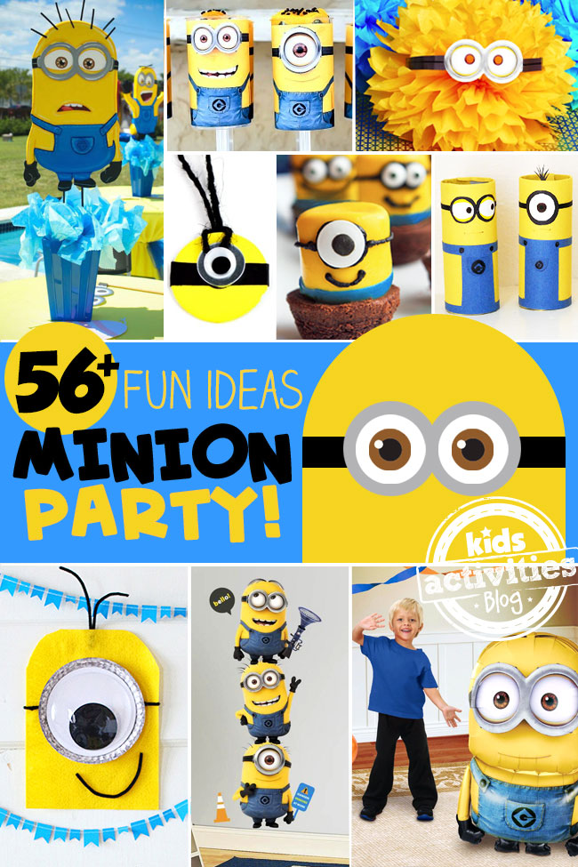 56 Fun Minion Party Ideas - Kids Activities Blog