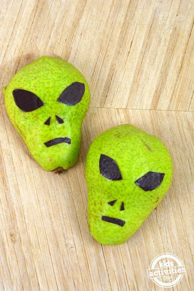 Healthy Pear Alien Treat
