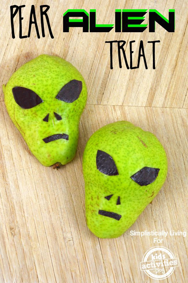 pear alien treat
