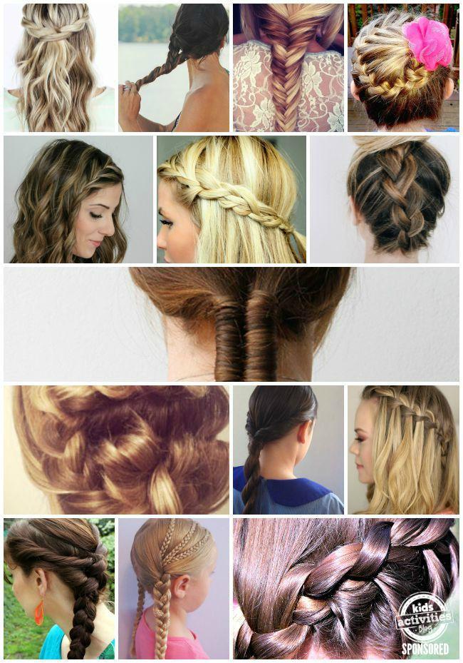 15 Fun Braid Hairstyles For Girls