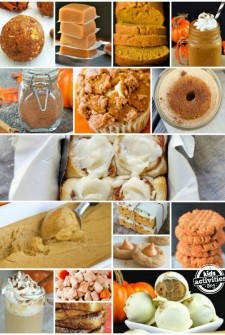 25 pumpkin spice recipes featured