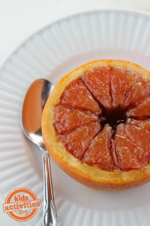 Brown Sugar Grapefruit