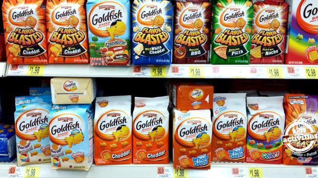 Goldfish Crackers at Walmart