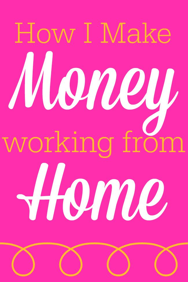 How i make money working from home for Work from home pictures