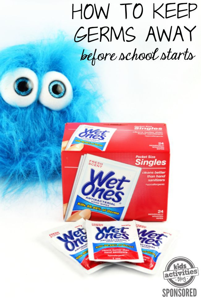 How to keep germs away before school starts
