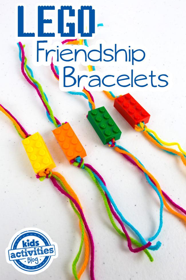 LEGO Friendship Bracelets