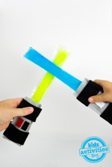 Light Saber Crafts: Frozen Pops