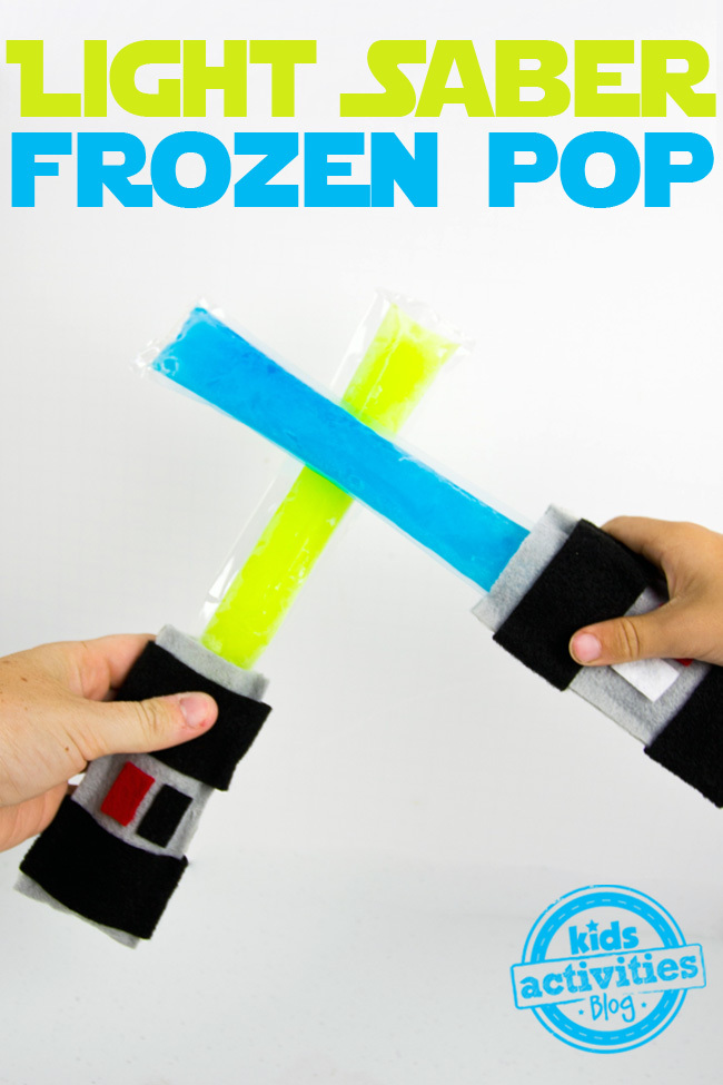 Light Saber Frozen Pop