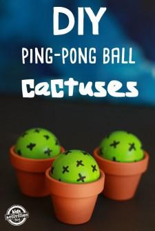 Ping Pong ball Cactuses Main