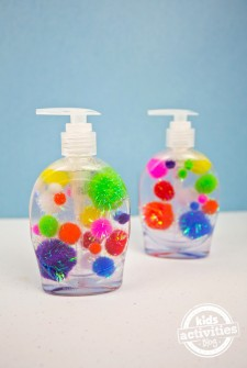 Pom Pom Soap Craft