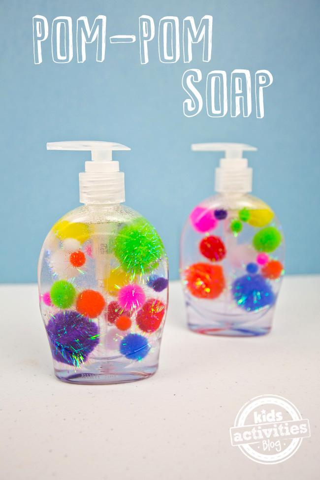 Pom Pom Soap Craft