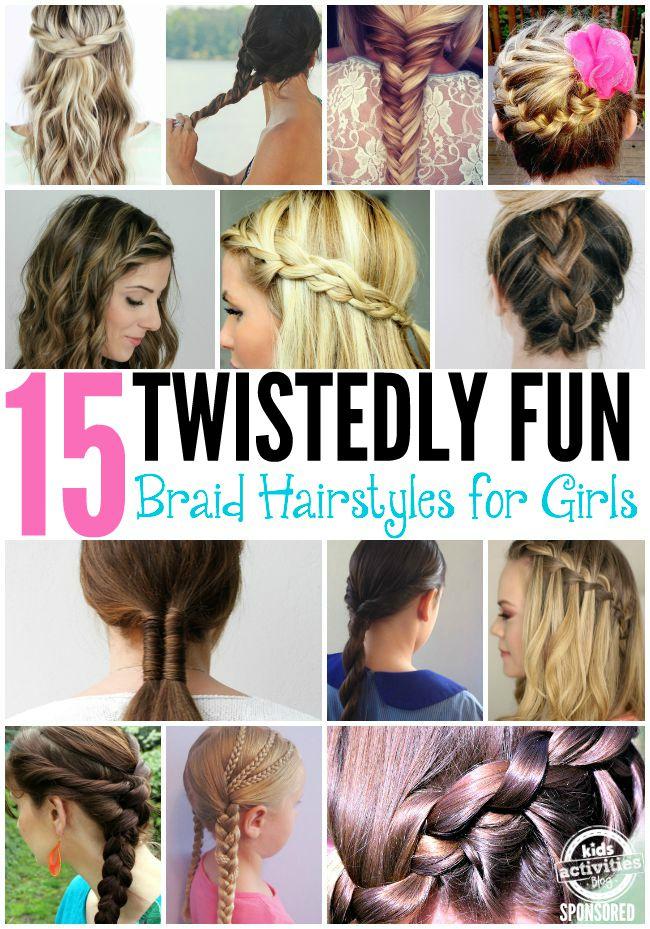 Astonishing 15 Fun Braid Hairstyles For Girls Hairstyles For Women Draintrainus