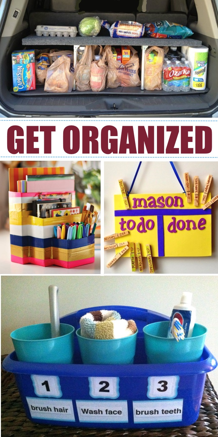 Ideas to get organized