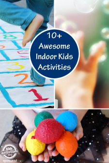 10+ Ways to Get Kids Active Indoors