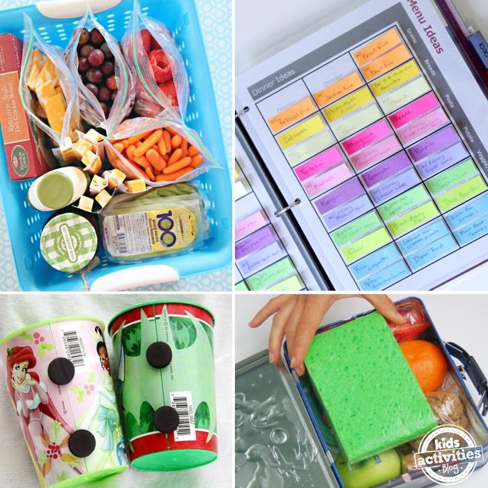 kitchen organization station ideas