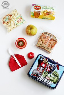 How to Pack a Super Hero Lunch