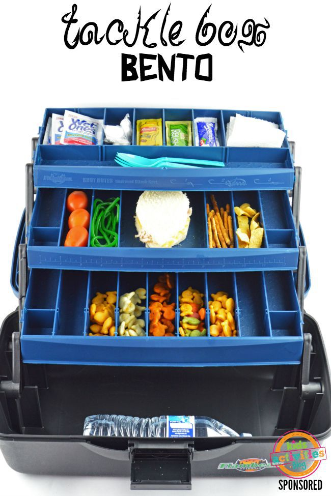 tackle box bento