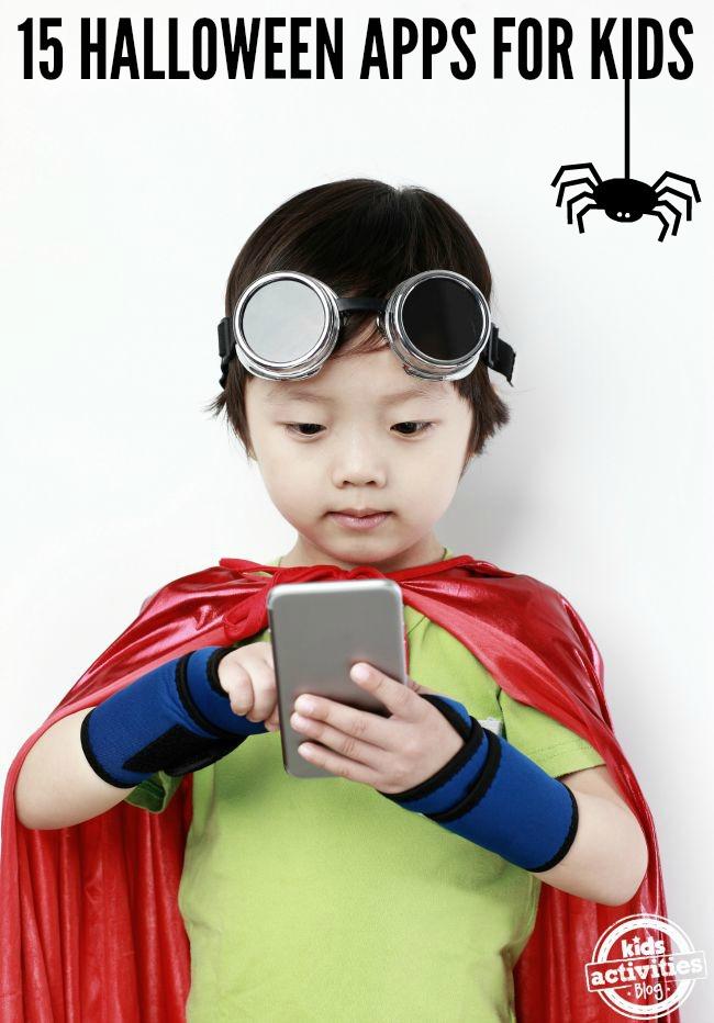 15 halloween apps for kids