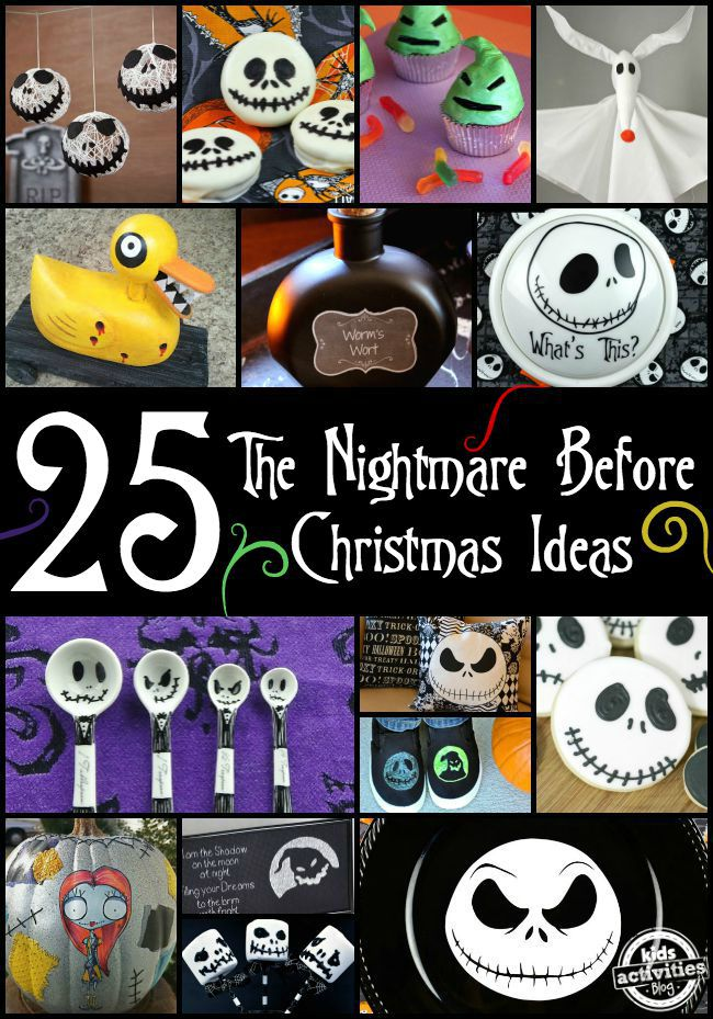 25 the nightmare before christmas ideas - Nightmare Before Christmas Decorating Ideas