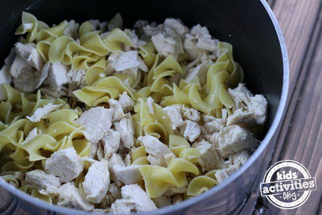 Chicken Noodel Casserole