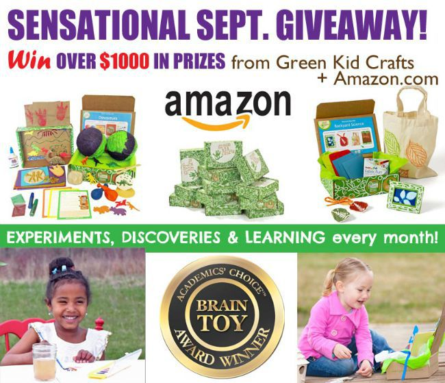 Green Kid Crafts Fall Giveaway