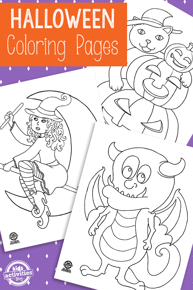 Free Printable Halloween Coloring Pages  Kids Activities Blog