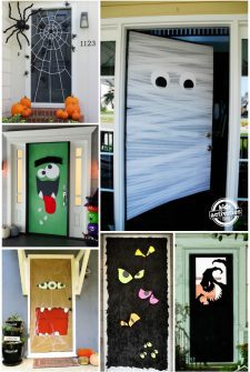 Idee Decoration Porte Halloween Of Cupcake Liner Ladybug Craft