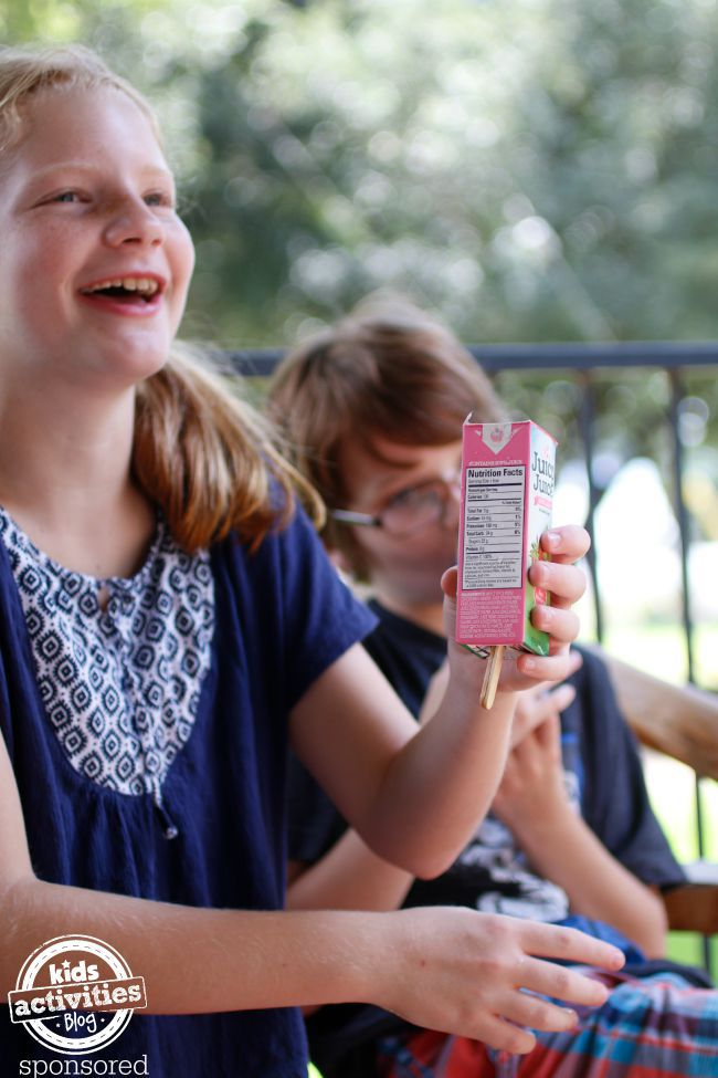Juicy Juice Popsicles - Kids Activities Blog
