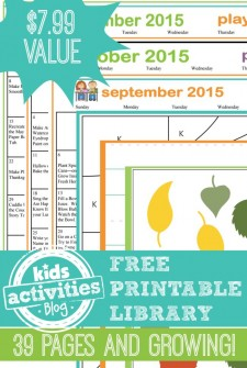 Free Printable Library:  {Tons of} Printables for Kids!