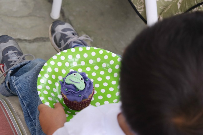 Kandoo cupcakes - potty training party