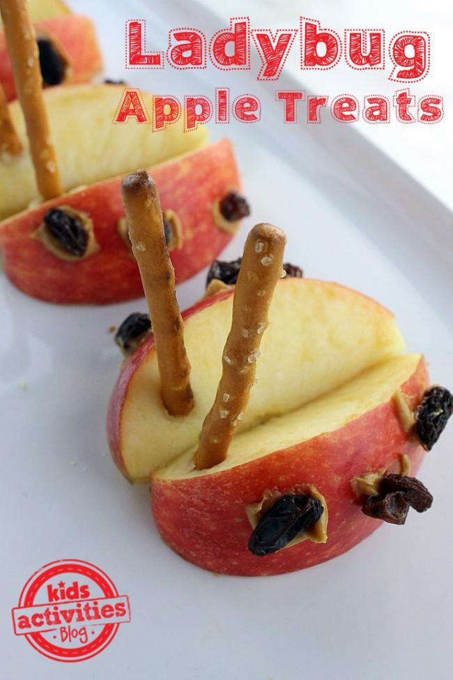 Ladybug Treats