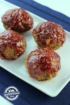 Meatloaf meatballs 9