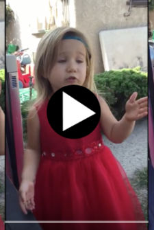 This 3-year-old flower girl has weddings ALL FIGURED OUT