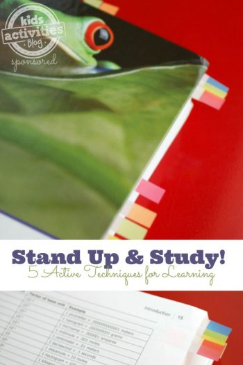 Stand Up and Study - Kids Activities blog