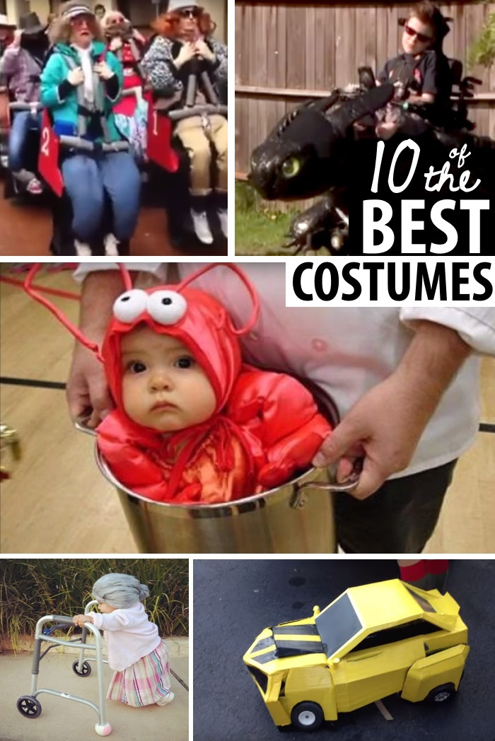 These win the prize most original halloween costumes in video for Comcostume halloween homme original