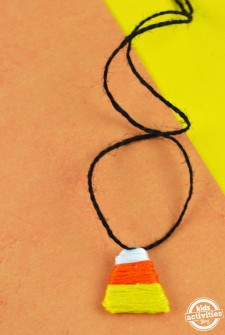 Make Your Own Candy Corn Necklace