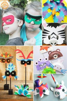 30+ DIY Mask Ideas for Kids