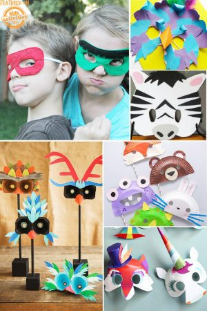 diy kids masks