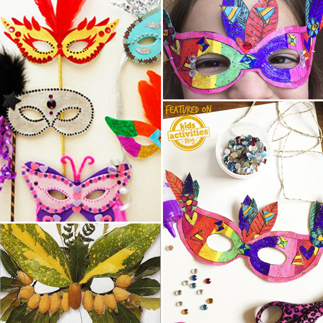 30 Diy Mask Ideas For Kids