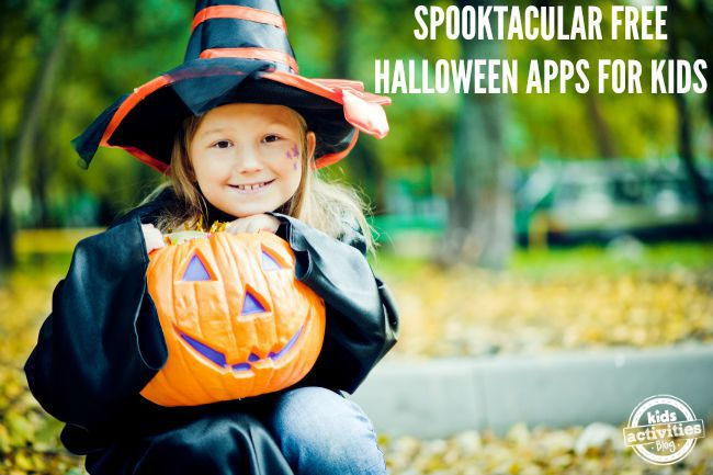 free halloween apps for kids
