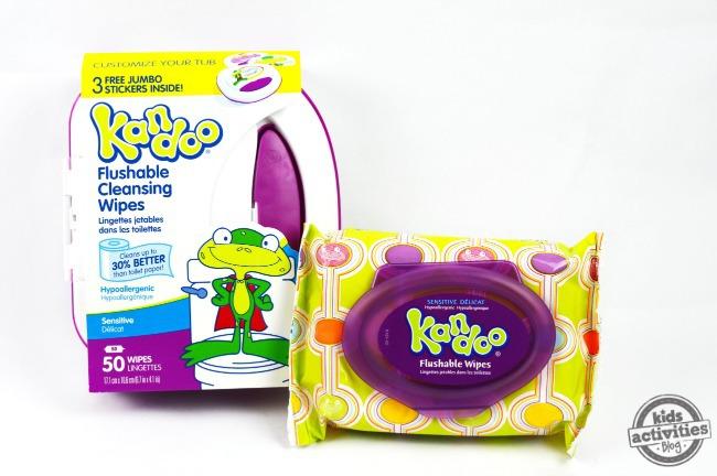 kandoo wipes for potty training party