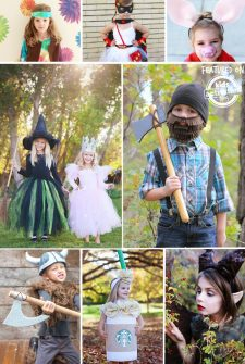40+ {Easy} Homemade Costumes for Kids