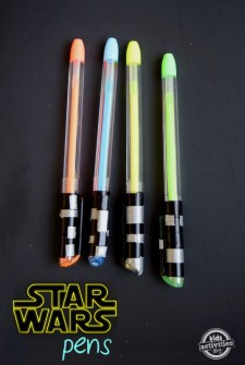 make a lightsaber pen